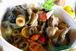 Salata de vinete la borcan