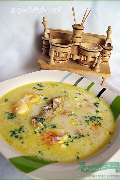 Supa de Zdrente- Supa de oua- Tojas leves