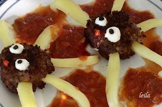 Chiftele cu legume si Sos picant