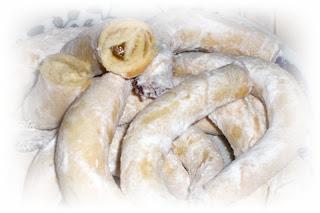 Cornulete albe - Feher omlos kifli