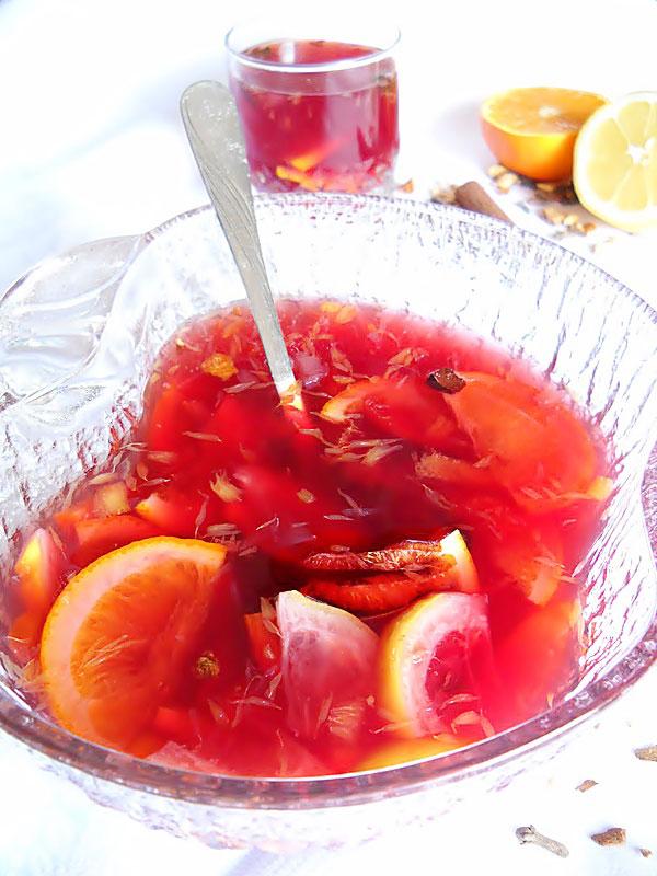 Vin Fiert cu Fructe