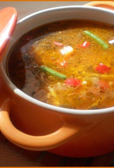 Ciorba de gasca cu legume