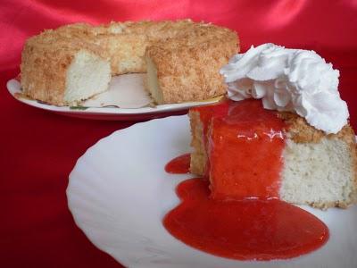 Angel Food Cake- Prajitura din albusuri