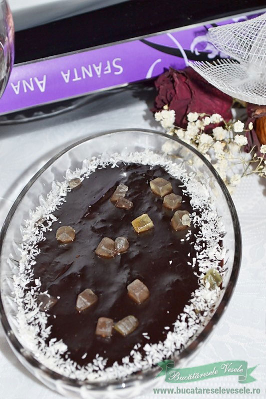 Budinca de ciocolata