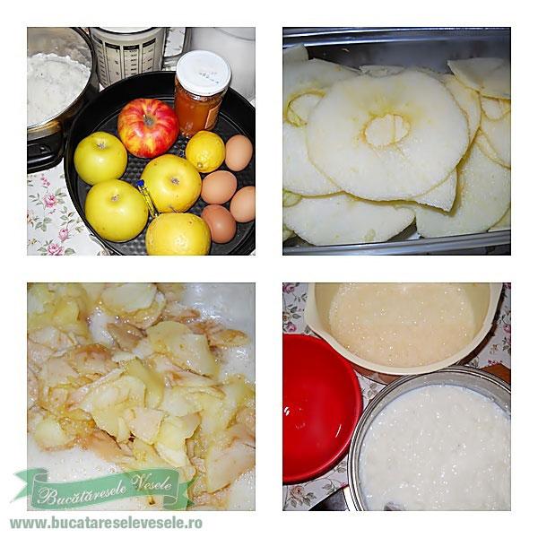 Budinca de orez cu mere