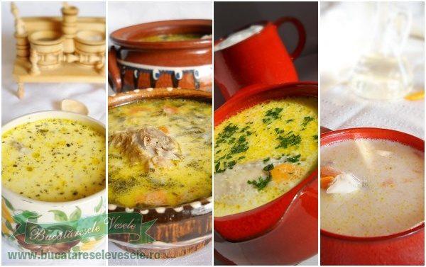 Supe si ciorbe de Pasti
