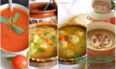 Retete supe si ciorbe de post