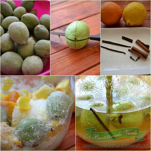 lichior de nuci verzi