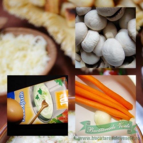 Ingrediente Supa de Ciuperci