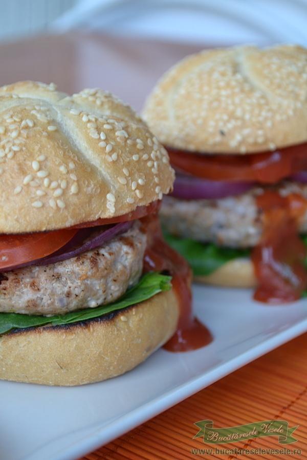 cei mai buni hamburgeri de vita pregatiti in casa