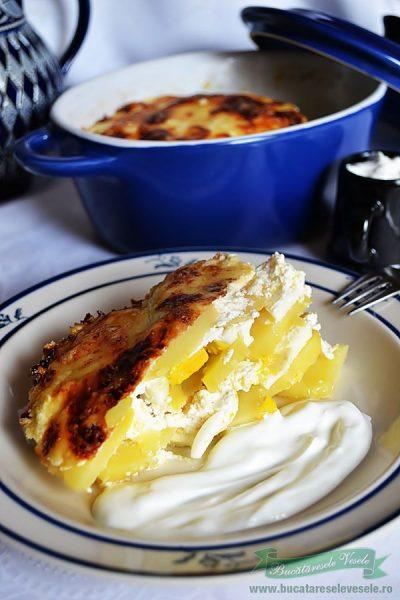 Cartofi Frantuzesti- Rakott Krumpli