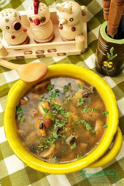 Supa de Ciuperci de Post