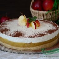 Tort cu mere si crema diplomat