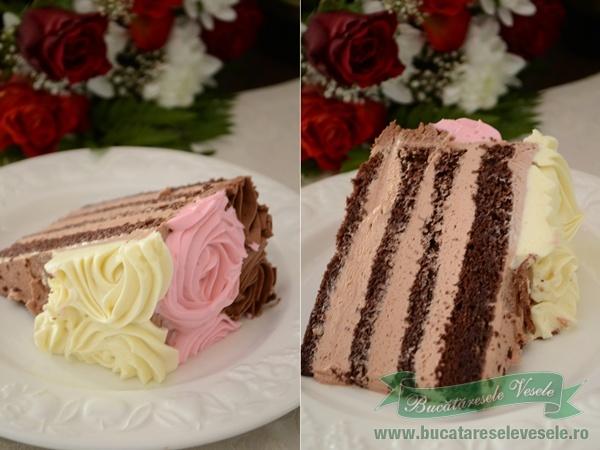 tort-cu-trandafiri-de-ciocolata-2