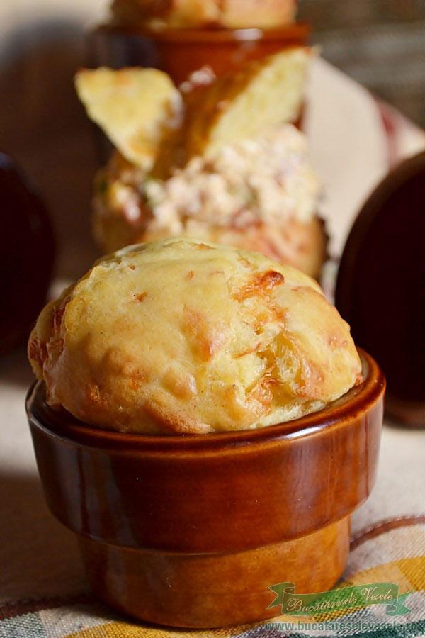 muffins cu cascaval copt