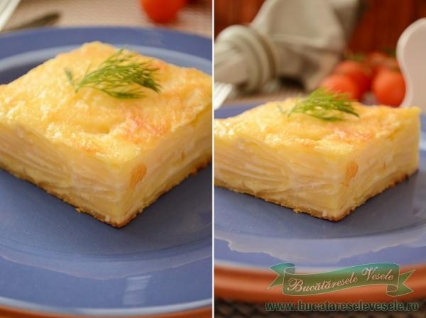 cartofi-dauphinoise-reteta