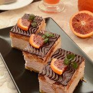 Prajitura cu Mascarpone si Portocale Rosii