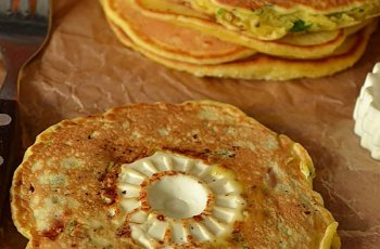 pancakes cu branza