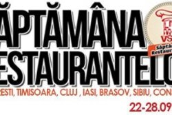 Saptamana Restaurantelor-editia de toamna!!
