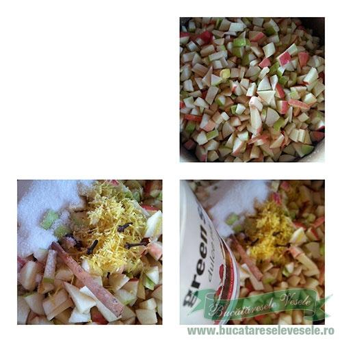 Dulceata de pere cu mere