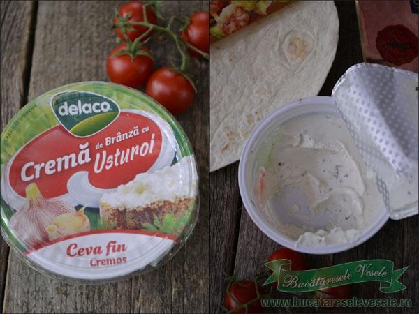 sandvis-cu-crema-de-branza-si-tortilla-ingrediente