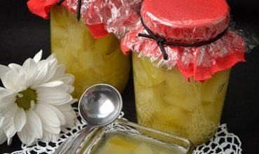 Compot de ananas fals