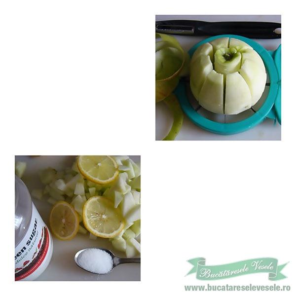 preparare Supa de mere