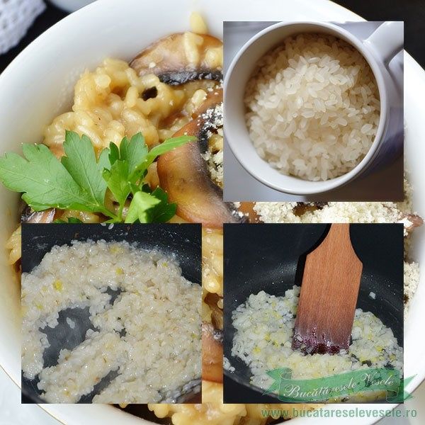 preparare risotto