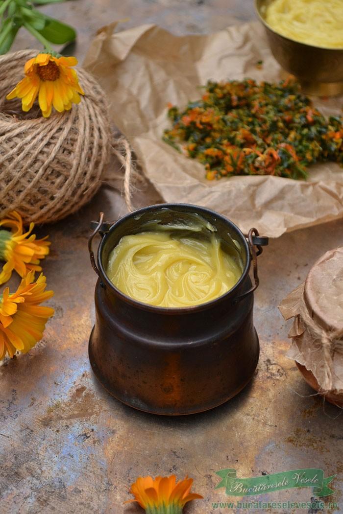 Crema de Galbenele - Alifie de Filimica