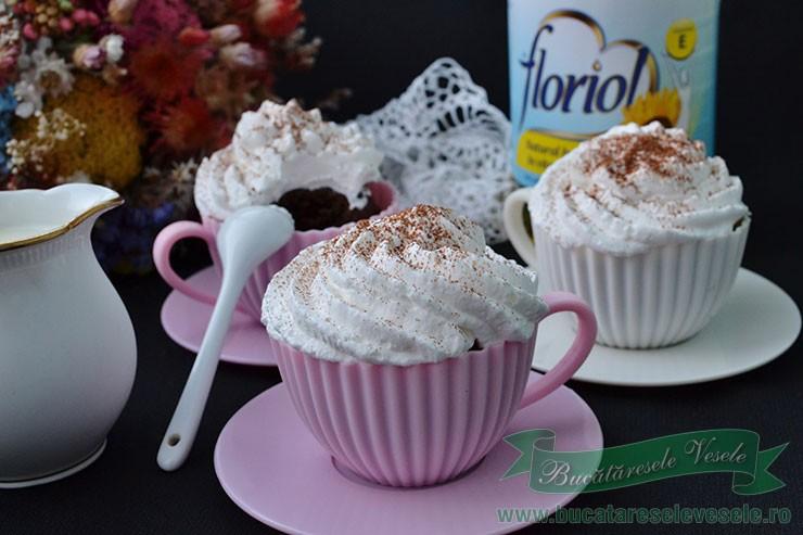 Muffins cu cacao si Nuci Caju