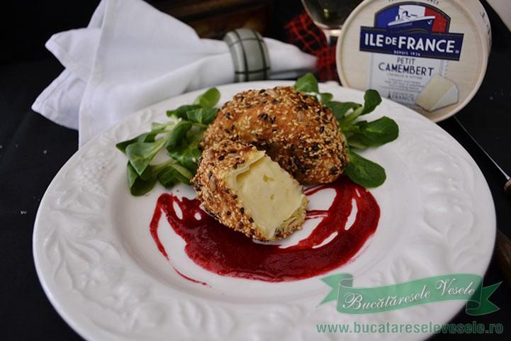 camembert in crusta de seminte