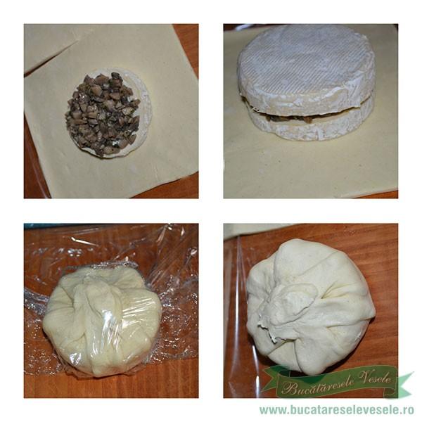 preparare Branza Brie in Foetaj