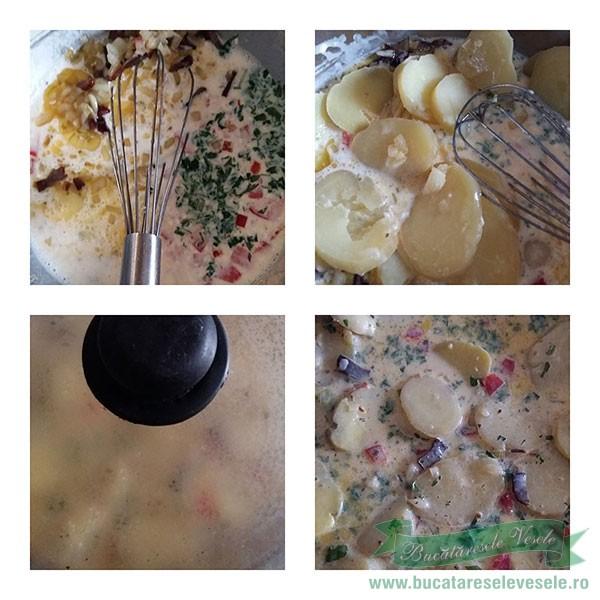Omleta de Cartofi