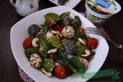 Salata cuSpanac si Branza Pufoasa