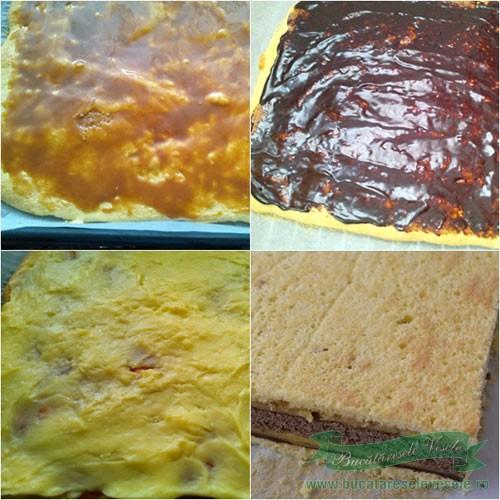 prajitura-cu-foi-si-crema-de-vanilie-preparare