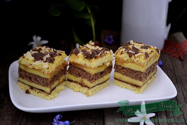 prajitura-cu-foi-si-crema-de-vanilie