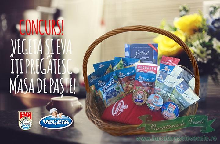 Concurs-Vegeta si EVA iti pregatesc masa de Paste!