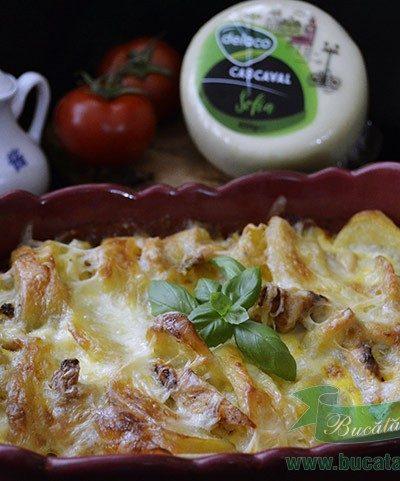 Cartofi cu Cascaval si Piept de Pui