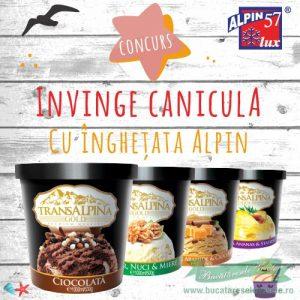 Concurs- Invinge canicula cu Alpin !!