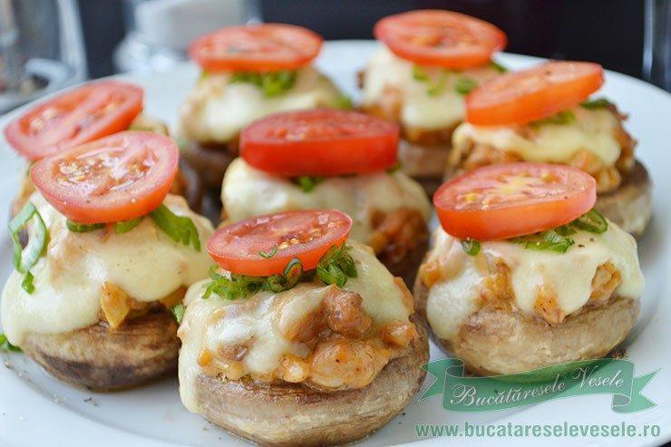 Hamburgeri din Ciuperci