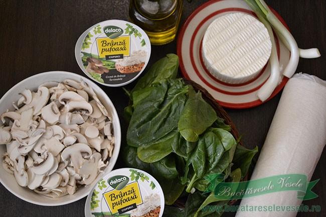 placinta-cu-branza-spanac-si-ciuperci-ingrediente