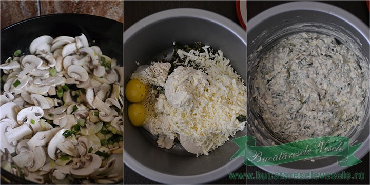 placinta-cu-branza-spanac-si-ciuperci-preparare