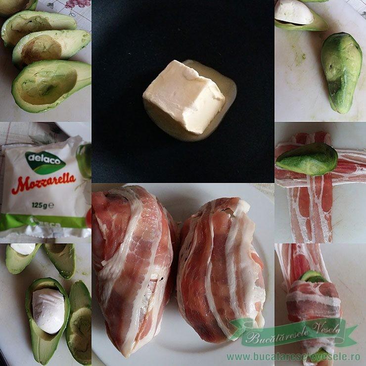 Avocado cu Mozzarella