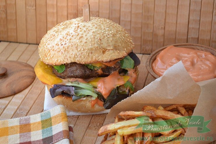 Burger cu Mango