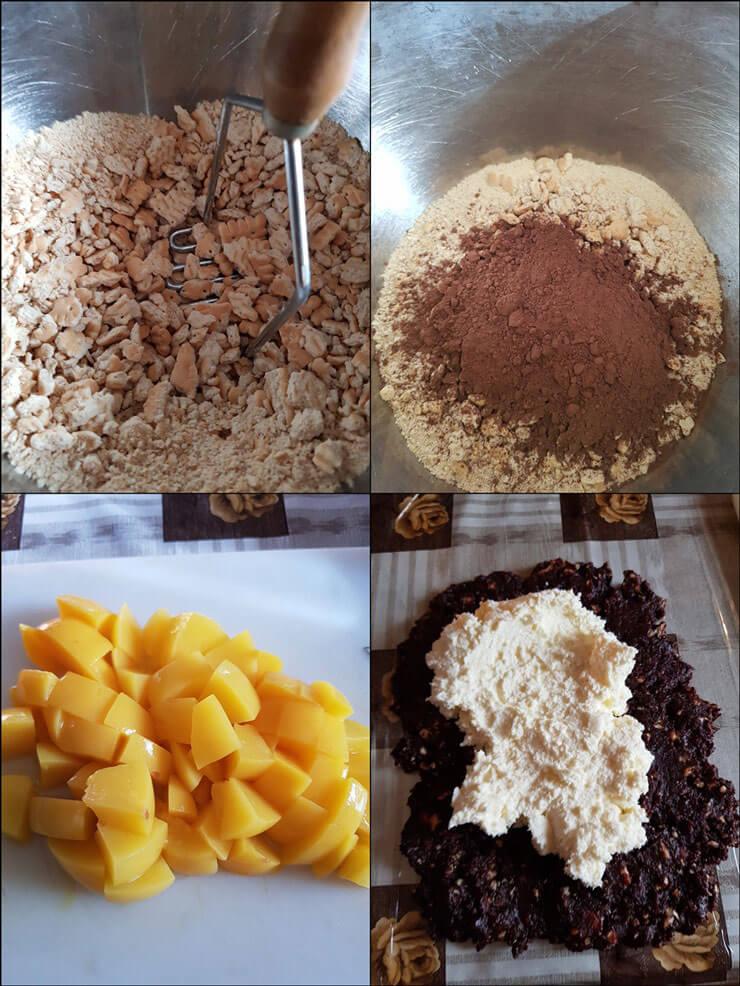 Rulada de Biscuiti cu Mascaporne