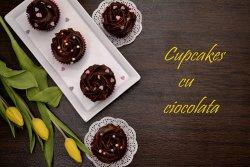 cupcakes cu ciocolata reteta video