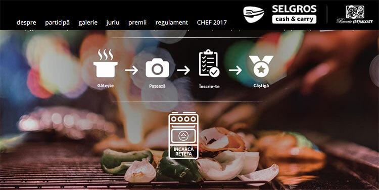 Chef pentru o zi 2018- concurs organizat de Selgros