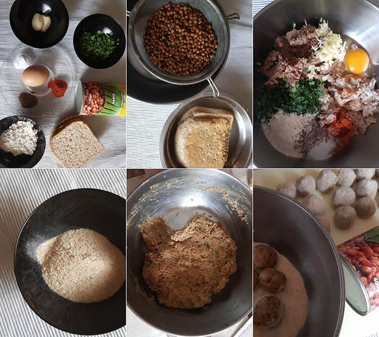 Chiftelute de linte