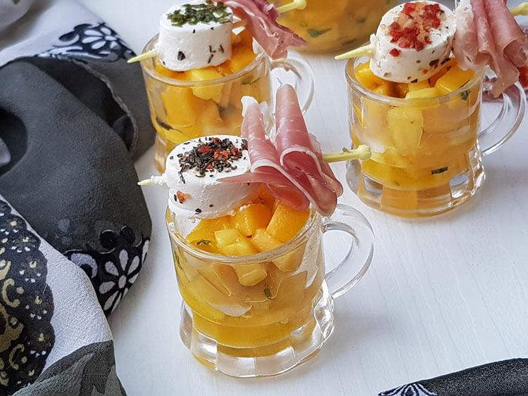 Aperitiv cu mango si Aperifrais