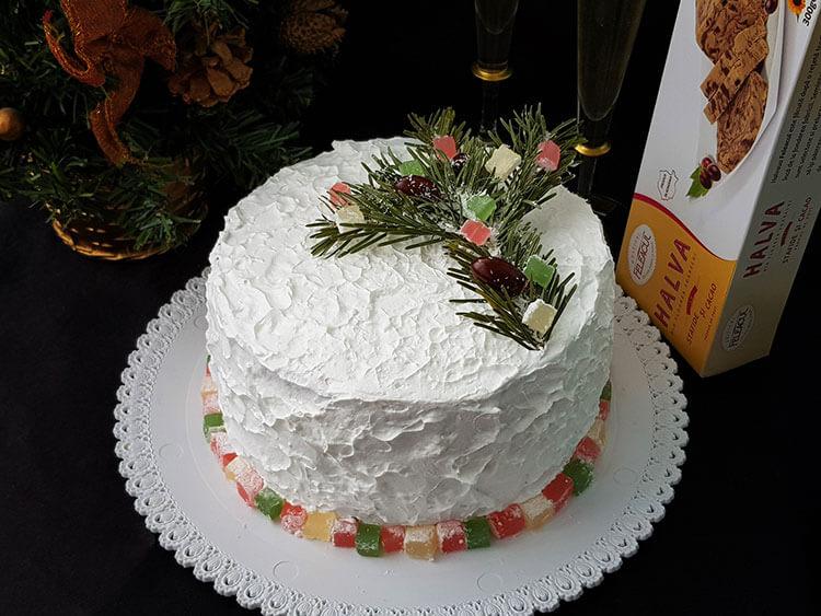 tort cu crema de halva